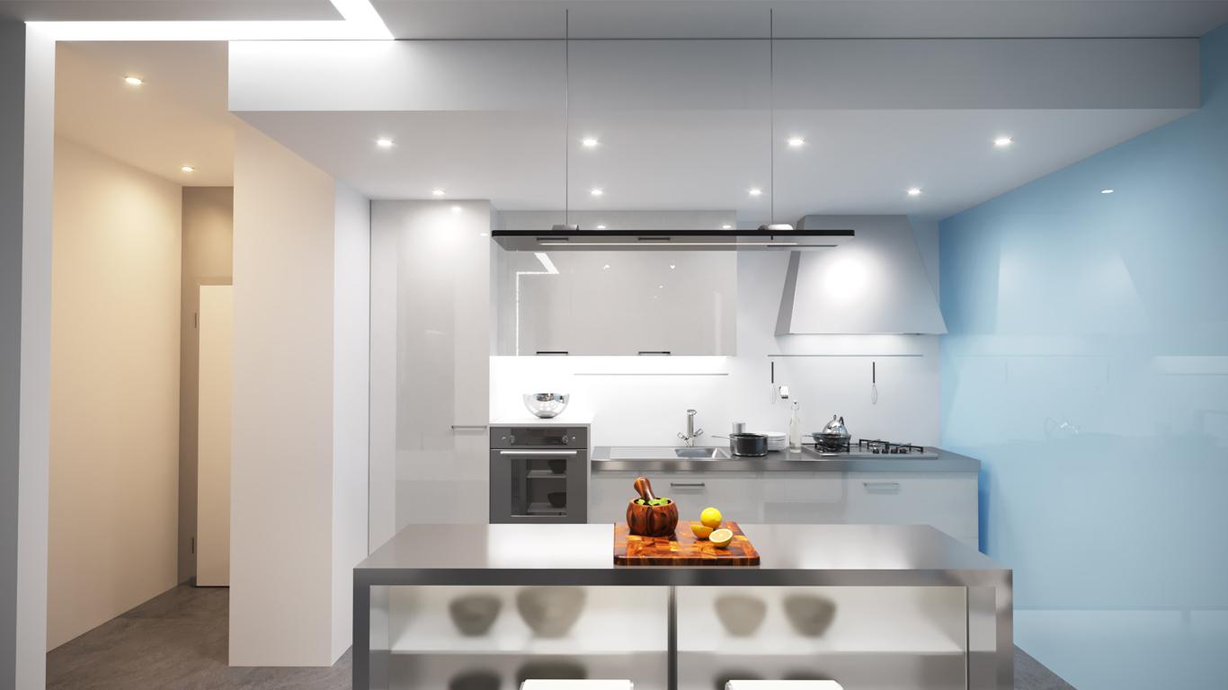 Saman Home Studio Interior Design, خانه کوچک سامان داخلی