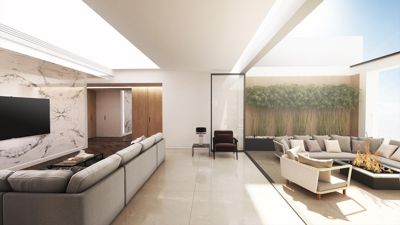 Abnous Project Interior design, داخلی واحد مسکونی آبنوس