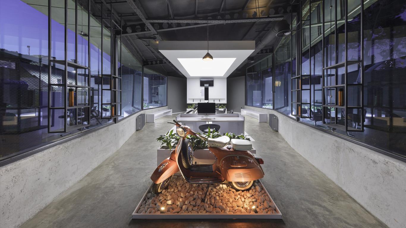 Architecture, Interior Design, VIP Hairclub Interior Design, VIP آرایشگاه مردانه داخلی