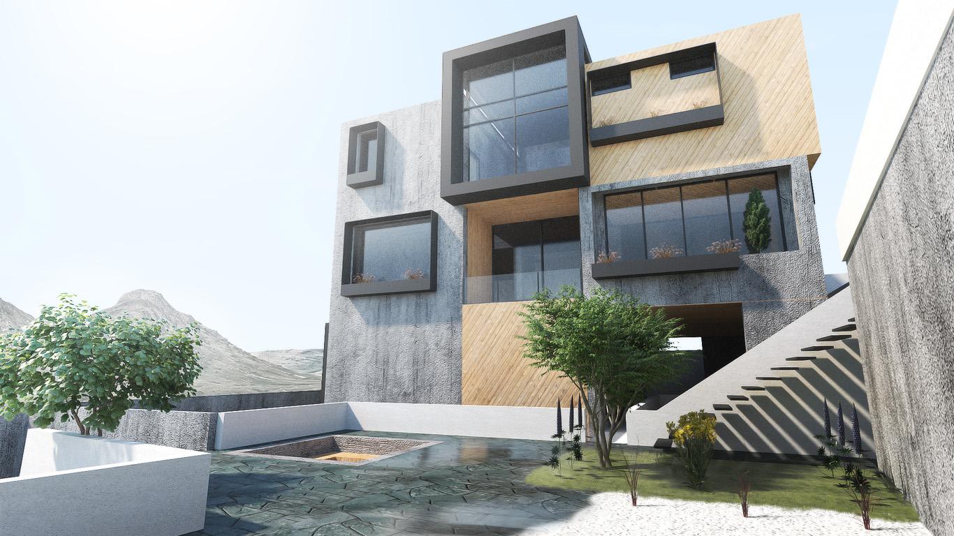 Lavasan Villa Apartment Architecture Design, Interior design, Architecture Design, ویلا آپارتمان لواسان