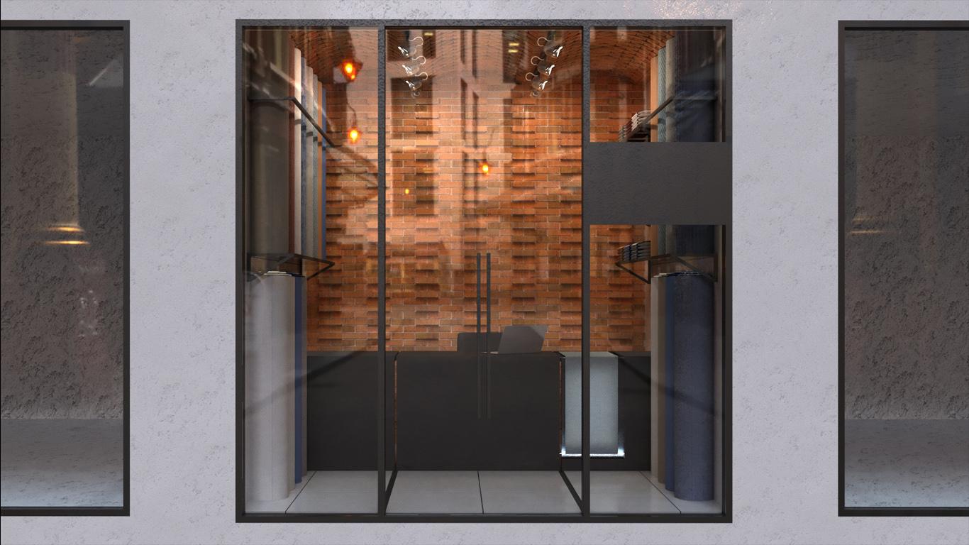 Taagh o Taagheh Interior design, طراحی داخلی طاق و طاقه