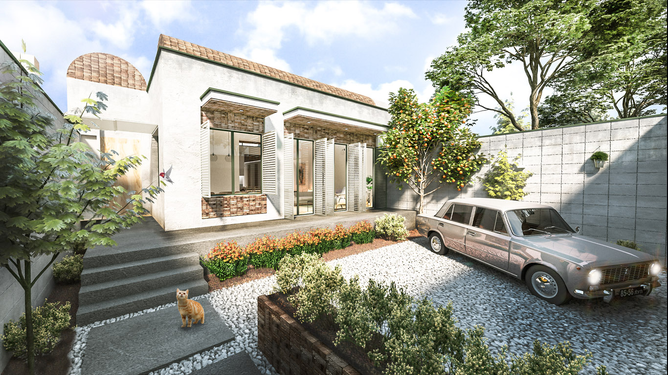طراحی معماری پروژه وُثاق, Vosagh Project Architecture Design