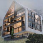 4 Architecture studio , استودیو معماری شماره چهار , Architecture , معماری , residential complex , exterior , مسکونی , نما, مجتمع مسکونی جنگلی رامسر