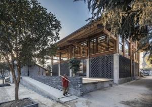 تحول معاصر معماری سنتی چین