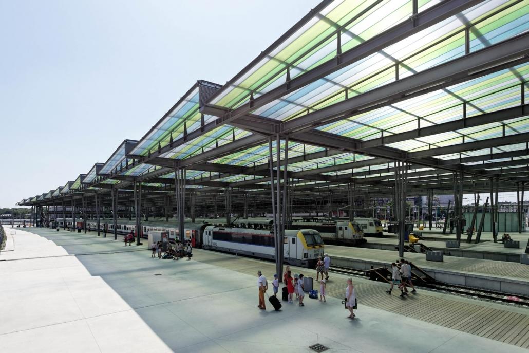 ایستگاه اوستنده / معماران Dietmar Feichtinger