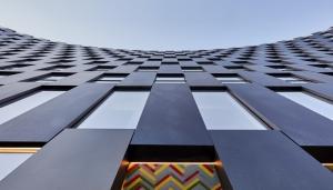 طراحی نمای ساختمان لبخند توسط BIG