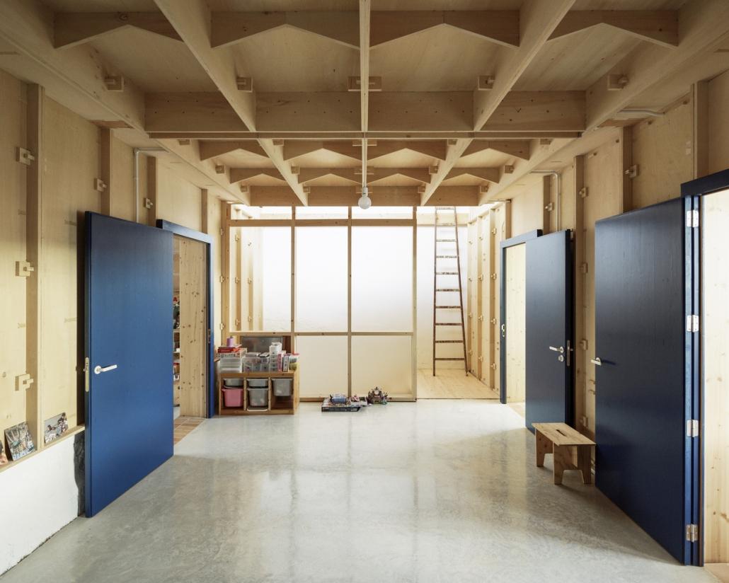 بازسازی داخلی خانه تخته سه لا / Arquitectos SMS