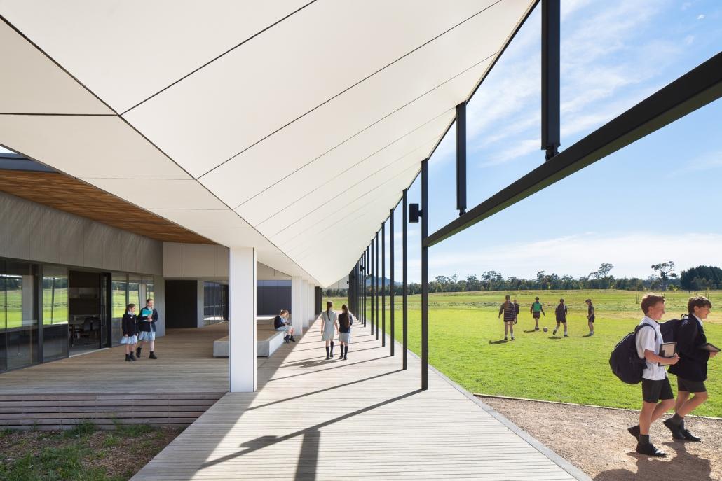 طراحی ساختمان مدرن مدارس جدید در استرالیا