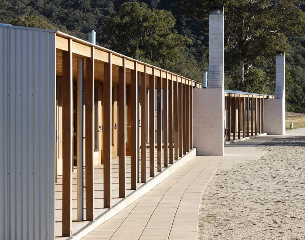 طراحی ساختمان مدرن مدرسه Cranbrook Wolgan / Architets Andrew Burns