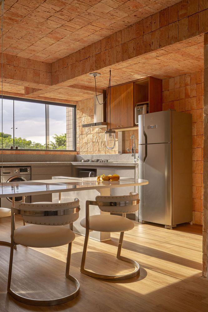 طراحی فضای داخلی آپارتمان / JS EB Arquitetos