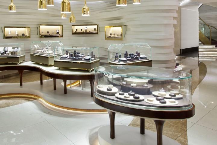 طراحی طلا فروشی